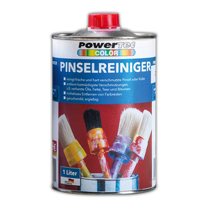 Powertec Color Pinsel Reiniger 1 Liter