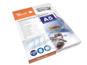Peach Laminierfolien A5, 100 mic, 100 Stück, PP500-03