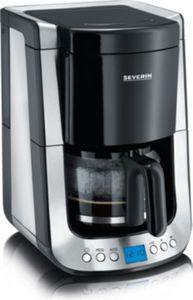 Severin KA 4460 Kaffeeautomat mit Timer Supreme, Edelstahl / schwarz gebürstet