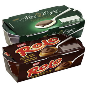 After Eight Dessert oder Rolo Dessert jede 2 x 70 = 140-g-Packung