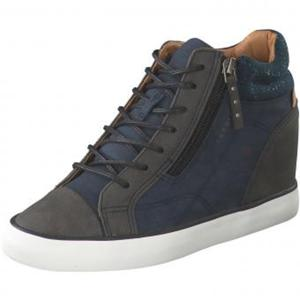 Esprit Sneaker High Damen blau