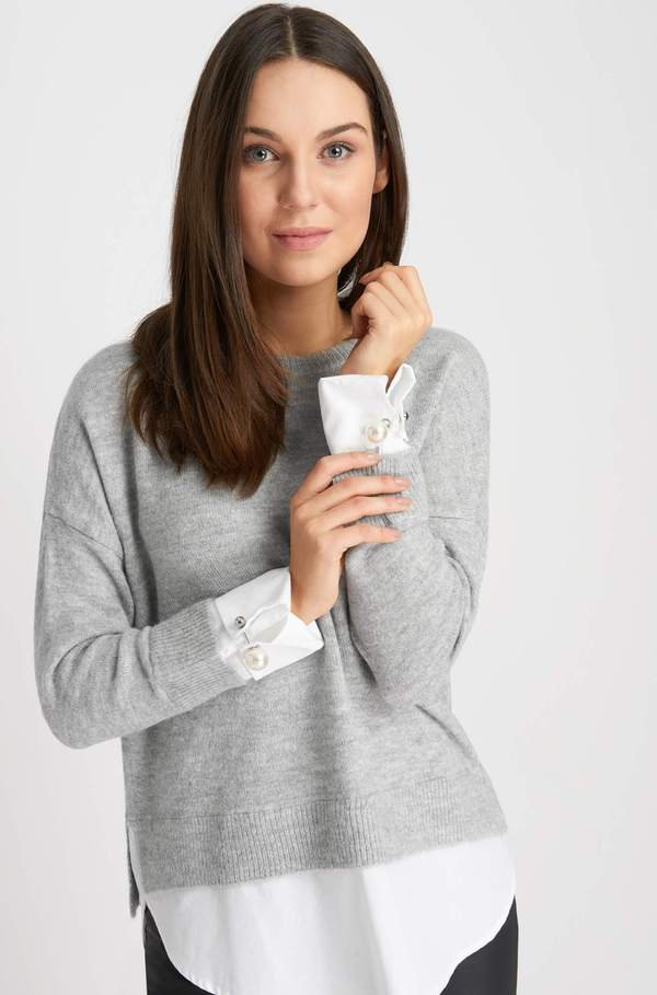 Pullover Mit Hemd Von Orsay Ansehen Discounto De