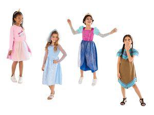Kinder Mädchen Kostüm Fasching