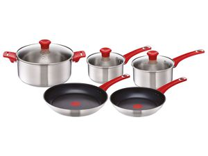 Tefal Jamie Oliver Topf- & Pfannen-Set H80155