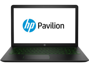 HP Pavilion Power, Gaming Notebook mit 15.6 Zoll Display, Core™ i7 Prozessor, 8 GB RAM, 1 TB HDD, 256 GB SSD, GeForce® GTX 1050, Schwarz/Grün