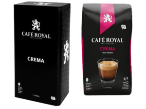 CAFE ROYAL 186510000129 Crema, Kaffeebohnen
