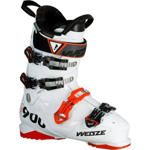 Skischuhe Mid 900 P Herren Flex 100 weiß WED'ZE
