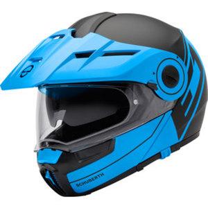 Schuberth E1 Radiant Blue Enduro Helm