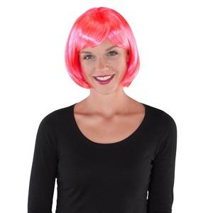 Karnevals-Perücke Bob pink