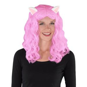 Karnevals-Perücke mit Katzenohren