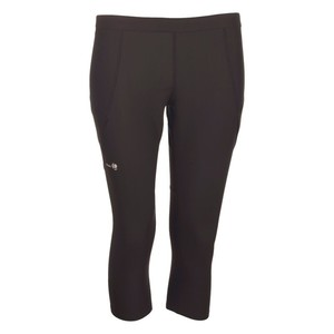 Trainingshose Essential Tennis 3/4 Damen grau ARTENGO