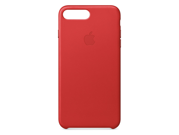 Apple IPhone 7 Plus Leder Case PRODUCT RED Rot