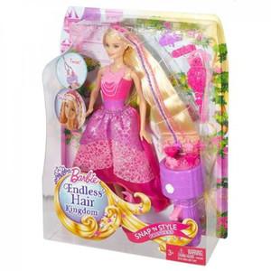 Mattel - Barbie Königreiche - Zauberhaar Flechtspaß Prinzessin