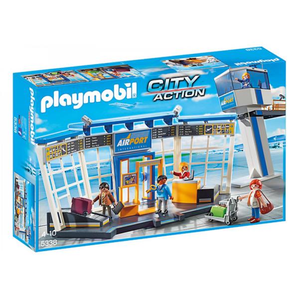 Playmobil 5338 City Flughafen Mit Tower Von Müller Ansehen