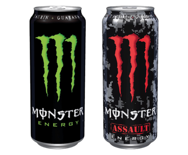 monster energy oder assault drink von diska ansehen. Black Bedroom Furniture Sets. Home Design Ideas
