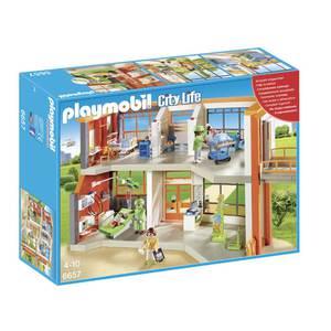 PLAYMOBIL 6657 City Life Kinderkrankenhaus mit Einrichtung