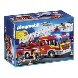 PLAYMOBIL 5362 City Action Feuerwehr-Leiterfahrzeug