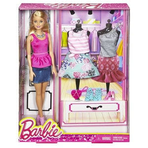 Mattel Barbie Fashion-Set