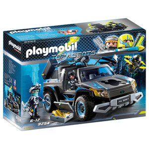 PLAYMOBIL 9254 Top Agents - Dr. Drone Pick-up
