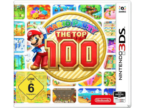 3DS Mario Party: The Top 100 [Nintendo 3DS]