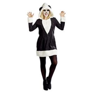Damenkostüm Panda Größe: 36 - 44