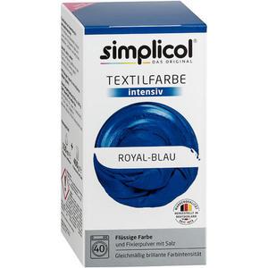 simplicol Textilfarbe intensiv Nr. 1809 Royal-Blau 1 Set