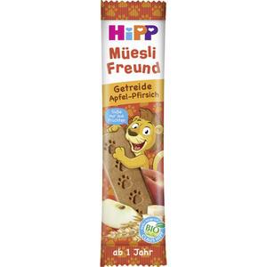 HiPP Bio Müesli Freund Getreide Apfel-Pfirsich 2.75 EUR/100 g (30 x 20.00g)