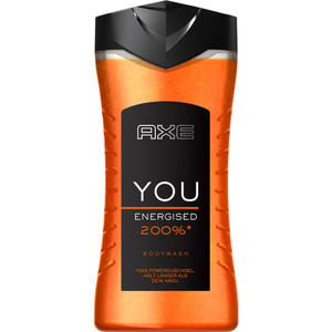 AXE YOU Energised 200%* Duschgel 0.62 EUR/100 ml