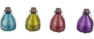Solar-Dekoleuchte - Flasche - 9 x 9 x 23 cm - 1 Stück