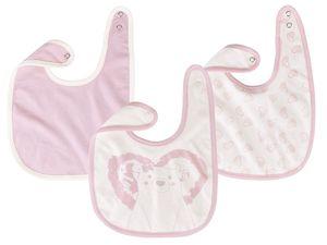 LUPILU® 3 Baby Mädchen Lätzchen