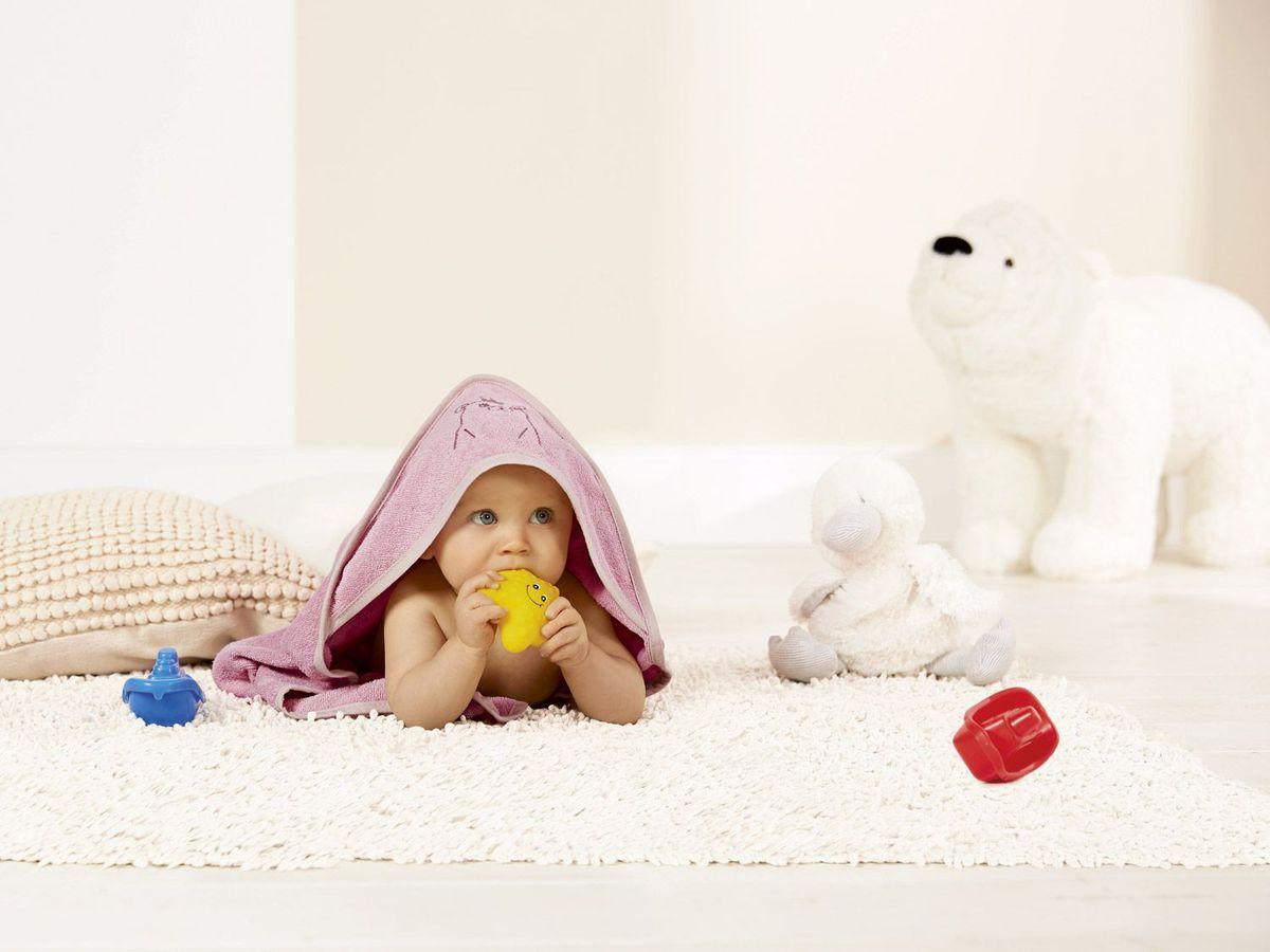Bild 3 von LUPILU® Baby Dreieckstuch mit Kapuze