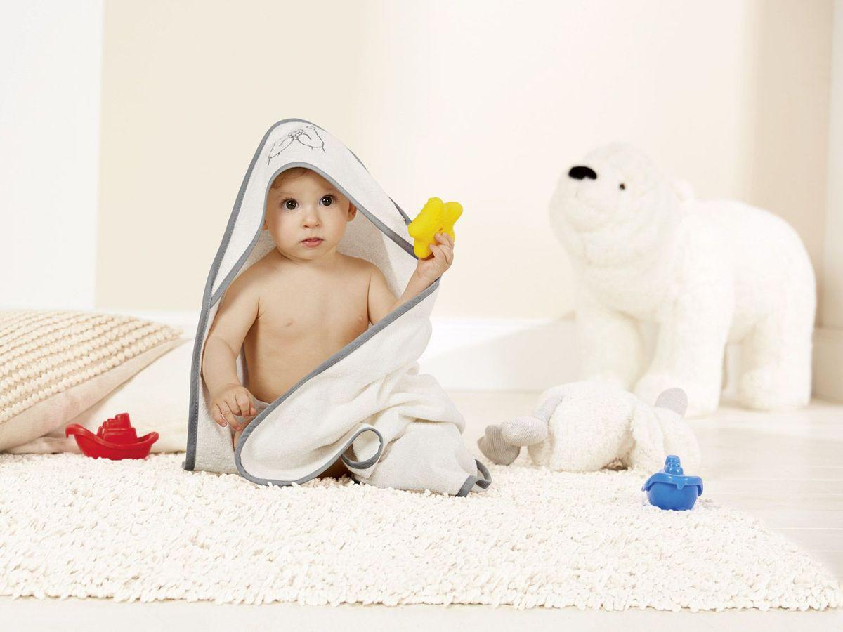 Bild 5 von LUPILU® Baby Dreieckstuch mit Kapuze