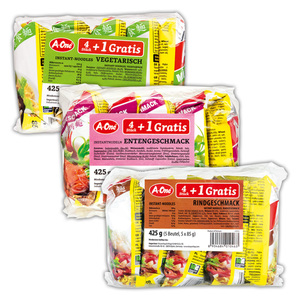 A-One Instant Nudelsuppe
