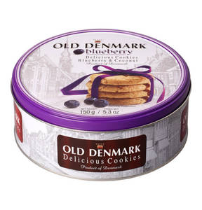"Jacobsen´s Bakery             Jacobsen's of Denmark Cookies ""Old Denmark"" Blueberry & Coconut 150g                  (3 Stück)"
