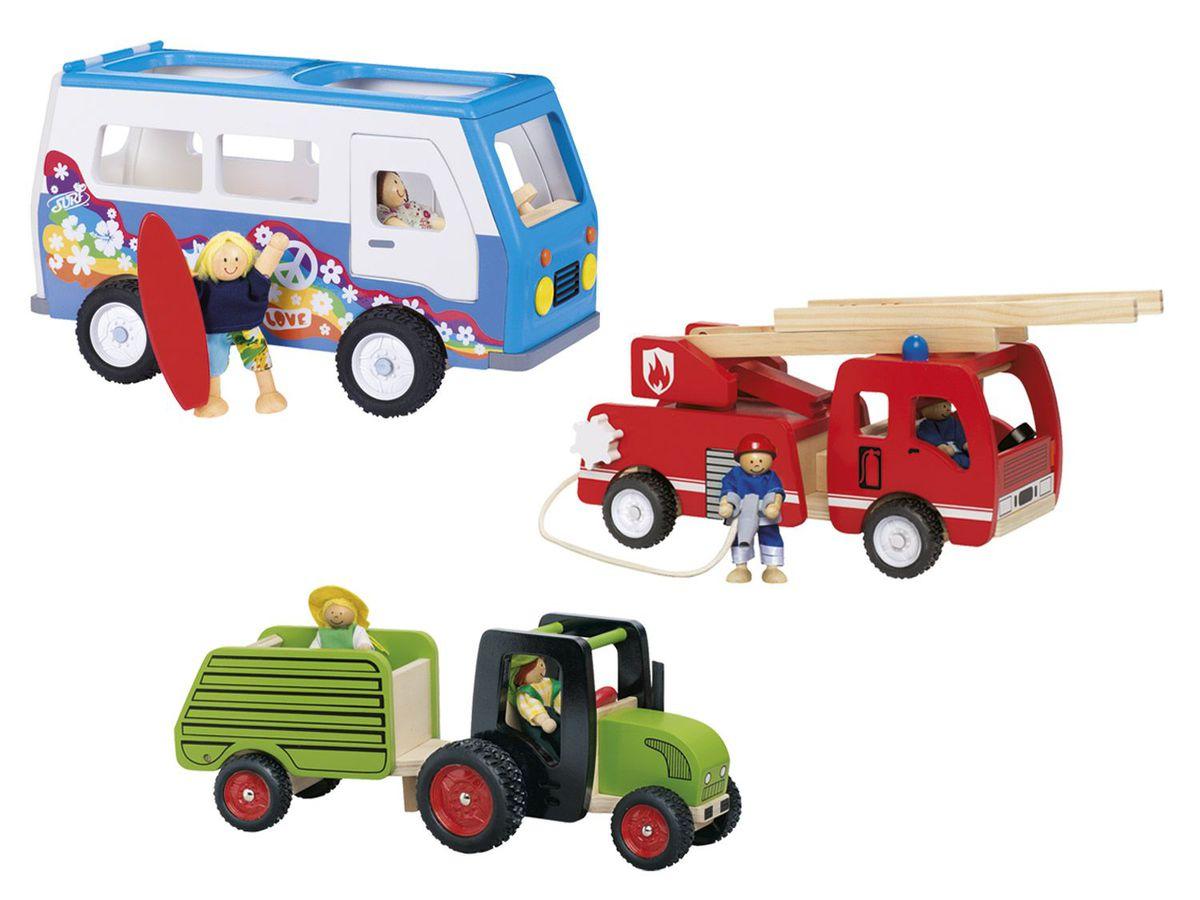Bild 1 von PLAYTIVE® JUNIOR Holz-Fahrzeug