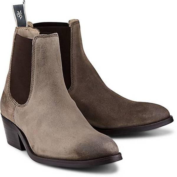 the best attitude b28e9 0e962 Chelsea Boots von Marc O'Polo in taupe für Damen. Gr. 37,38,39,40,41,42