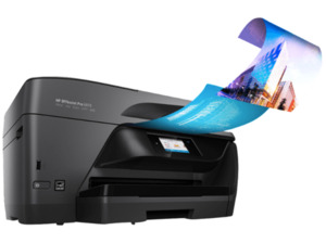 HP OfficeJet Pro 6970, 4-in-1 Multifunktionsdrucker, Schwarz
