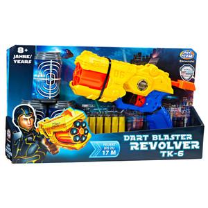 Müller - Toy Place - Soft Gun Dart Blaster Revolver TK 6