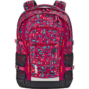 4YOU JAMPAC Rucksackset 2-tlg. Geometric Red