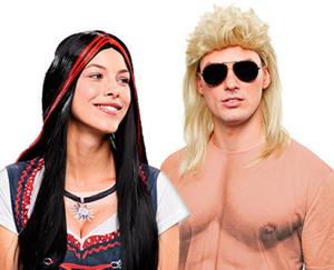 Magic Karnevalsperücke für Erwachsene oder Kinder