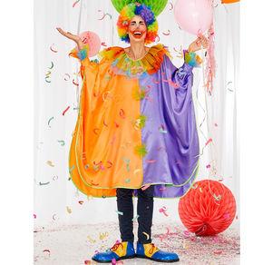 Clown-Kostüm für Erwachsene, Einheitsgröße