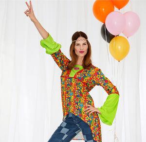 Damen-Hippie-Kostüm