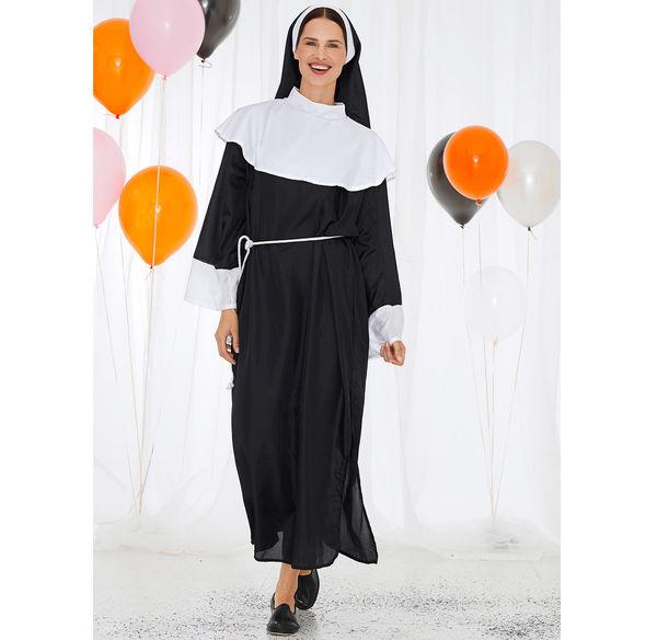 Damen Nonnen Kostum 3 Teilig Von Nkd Ansehen Discounto De