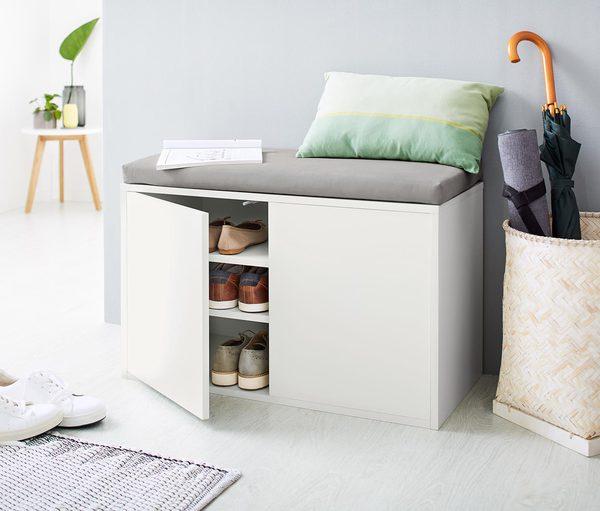 sitzbank mit schuhfach von tchibo ansehen. Black Bedroom Furniture Sets. Home Design Ideas