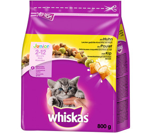 Whiskas® Junior Huhn, Trockenfutter