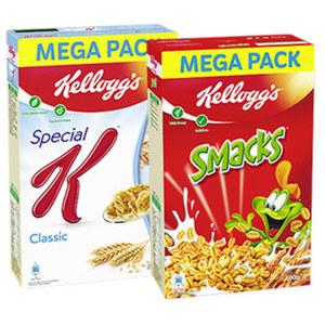 Kellogg´s Cerealien oder -Special K versch. Sorten, jede 500/600-g-Packung