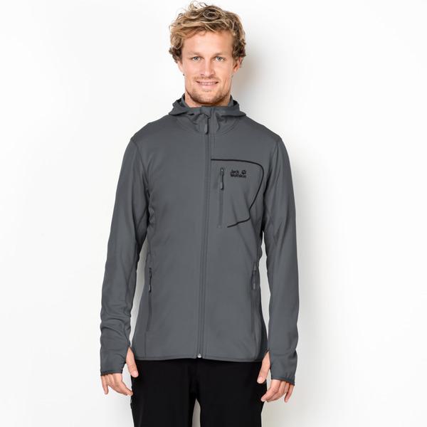 jack wolfskin männer jacke hydropore hooded jacket men xxl