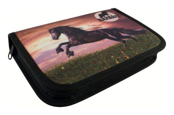 Schüleretui - Pferd - Black Beauty -50 tlg.