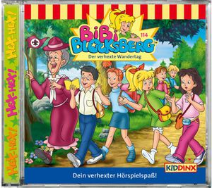 Bibi Blocksberg Folge 114 der verhexte Wandertag CD