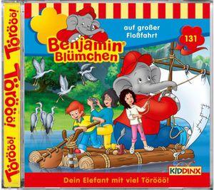CD Benjamin Blümchen Folge 131 - Auf großer Fahrt